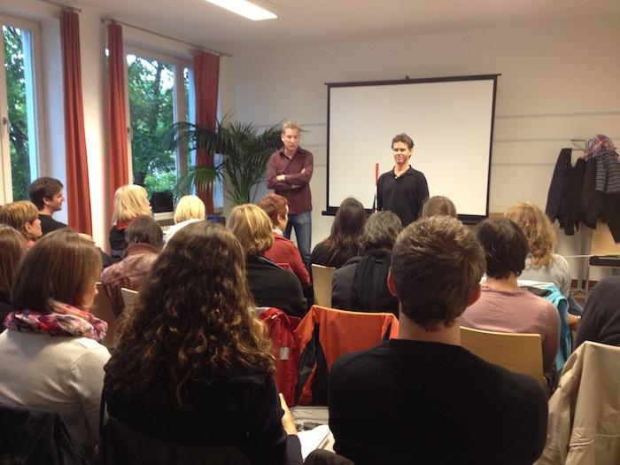 Frühförderer Workshop mit Daniel Kish