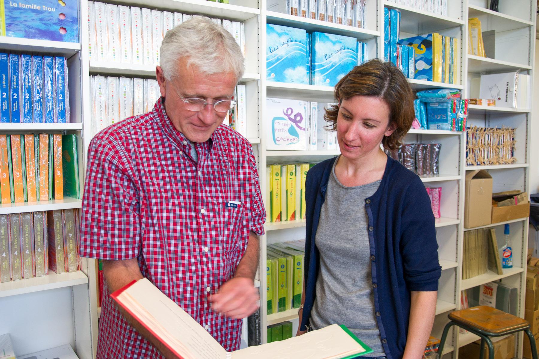Philippe Claudet und Ellen Schweizer