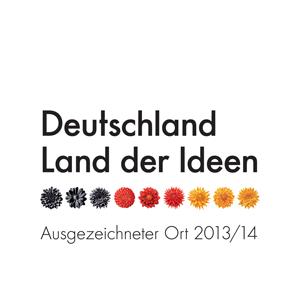 Logo Ausgezeichneter Ort 2013/14