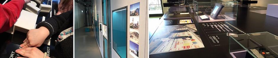 """Neue Ausstellung und alle Exponate hinter Glas: """"Das Netz"""""""