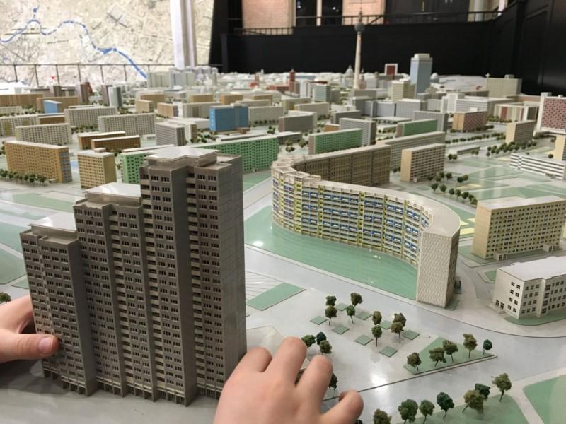 Die Welt muss begreifbar sein. Ausstellung mit Stadtbild zum Anfassen