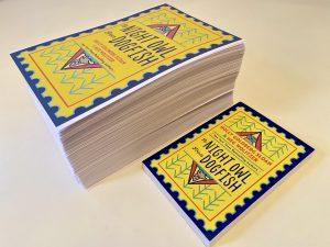 Taschenbuch als Braille Kopie: Der Größenvergleich