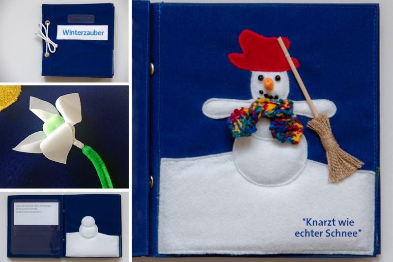 Winterzauber-Buchdetails