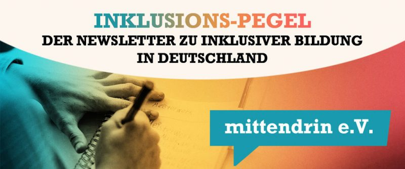 Link zum Inklusions-Pegel Juni 2020 VON MITTENDRIN E.V.